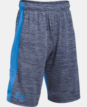 Best Seller  Boys' UA Stunt Printed Shorts  1 Color $24.99 to $32.99