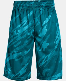 Boys' UA Stunt Printed Shorts  6  Colors Available $18 to $22.5