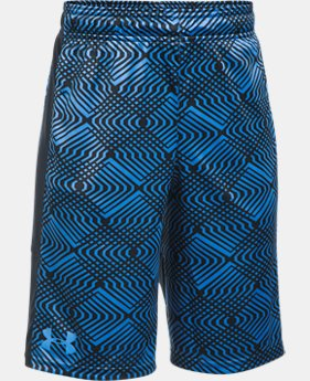 Best Seller Boys' UA Stunt Printed Shorts  2 Colors $19.59 to $20.99