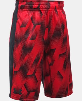 Boys' UA Stunt Printed Shorts  1 Color $32.99