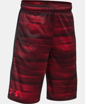 New Arrival  Boys' UA Stunt Printed Shorts  1 Color $32.99