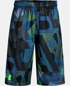 Best Seller Boys' UA Stunt Printed Shorts FREE SHIPPING 1  Color Available $30