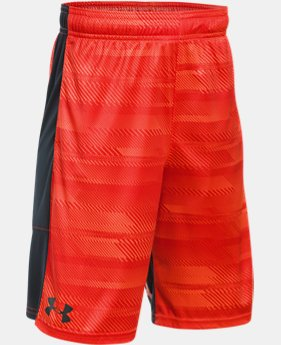 Best Seller  Boys' UA Stunt Printed Shorts  2 Colors $32.99