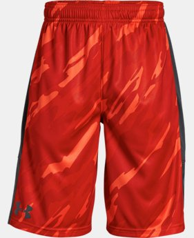 Best Seller Boys' UA Stunt Printed Shorts FREE SHIPPING 5  Colors Available $30