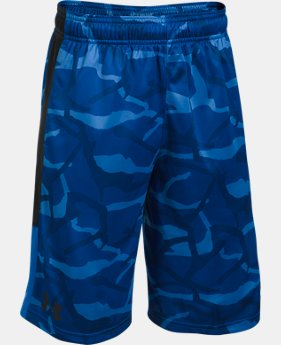 Best Seller Boys' UA Stunt Printed Shorts  1 Color $21.99