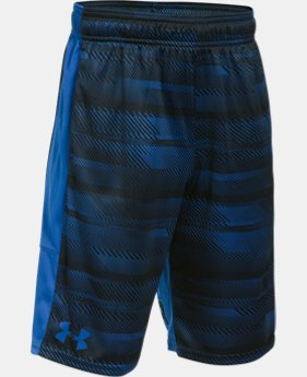 New Arrival  Boys' UA Stunt Printed Shorts  3 Colors $24.74 to $32.99