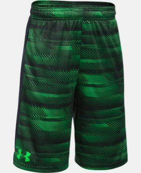 Best Seller  Boys' UA Stunt Printed Shorts  7 Colors $23.99 to $32.99