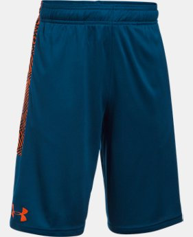 Best Seller Boys' UA Stunt Printed Shorts  2 Colors $19.59 to $21