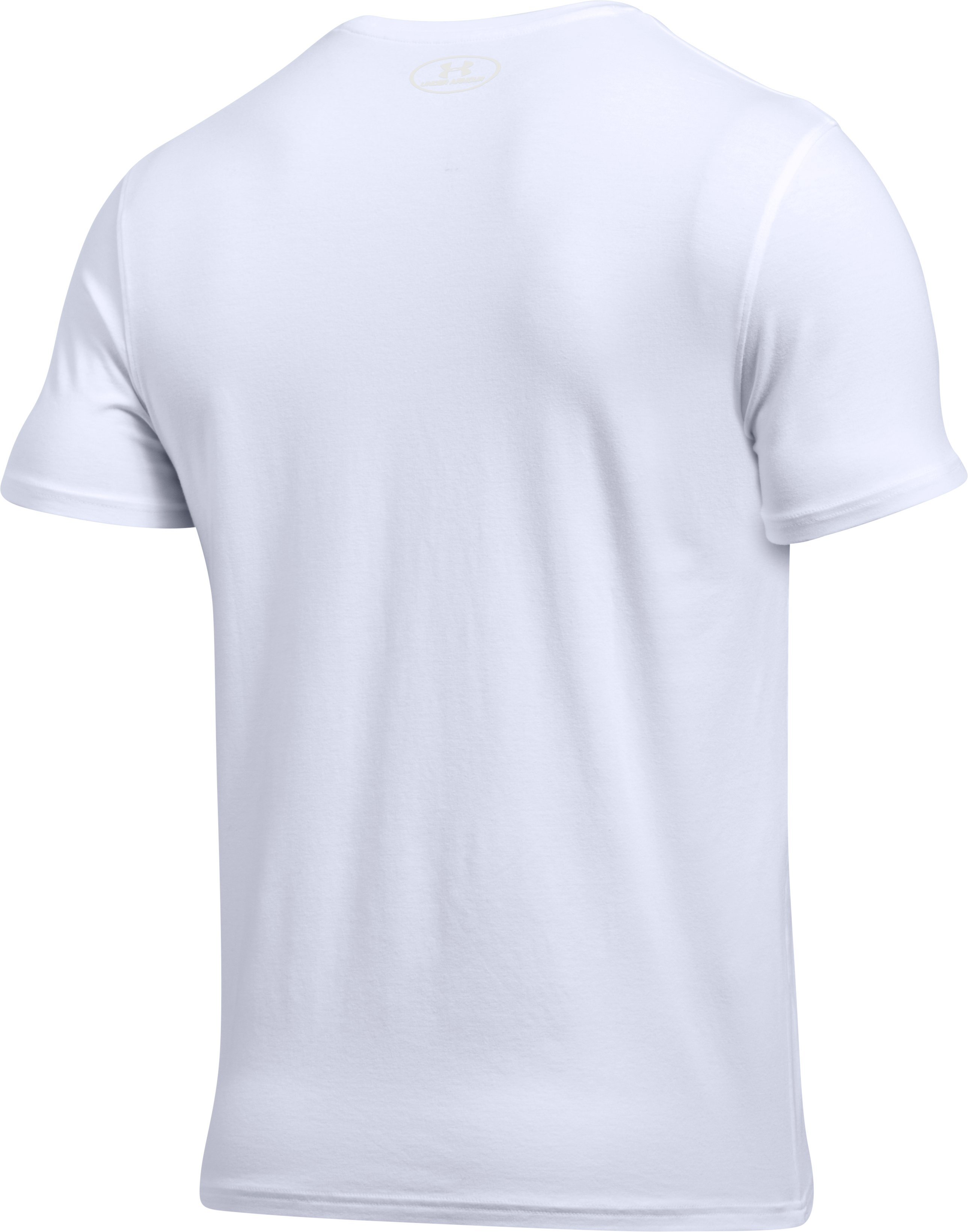 Men's Charged Cotton® Crew Undershirt – 2-Pack, White,