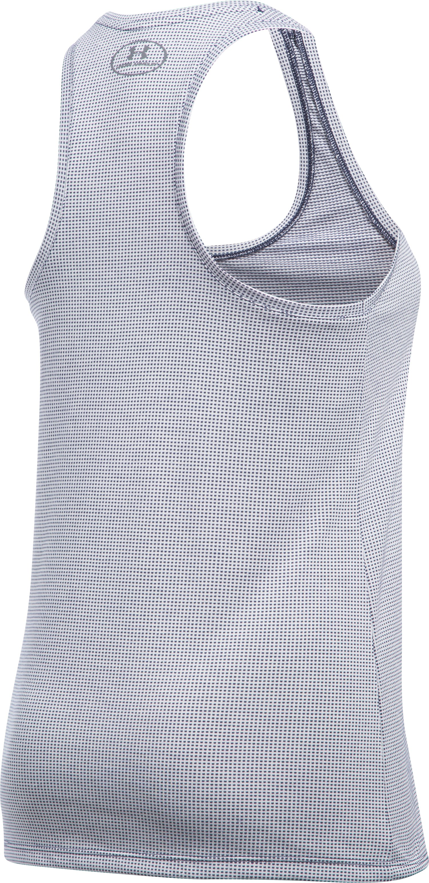 Women's UA Threadborne Train Grid Tank, Midnight Navy, undefined