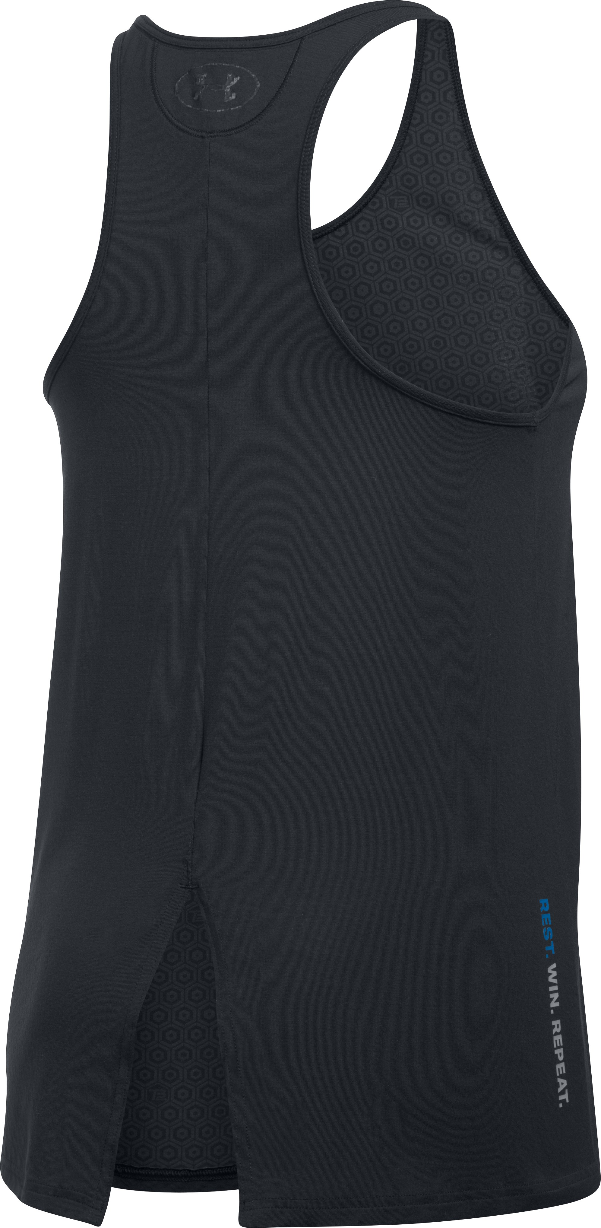 Women's Athlete Recovery Ultra Comfort Sleepwear Tank, Black ,