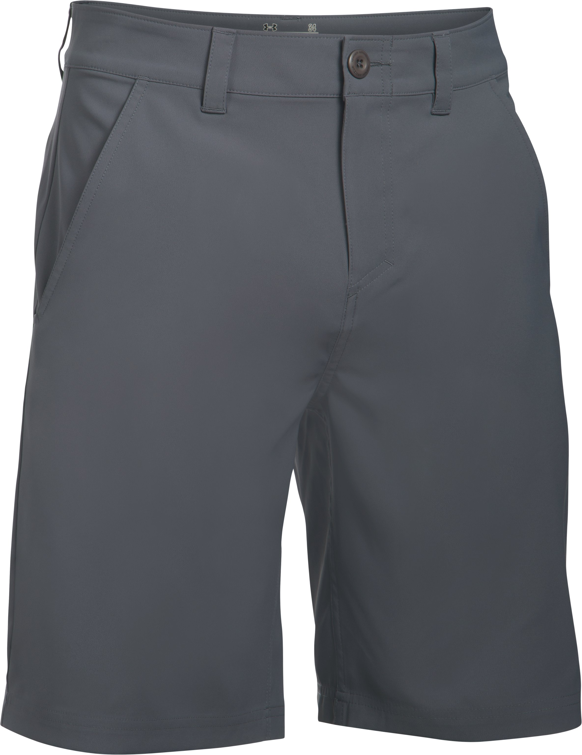 Men's UA Fish Hunter Shorts, RHINO GRAY, undefined