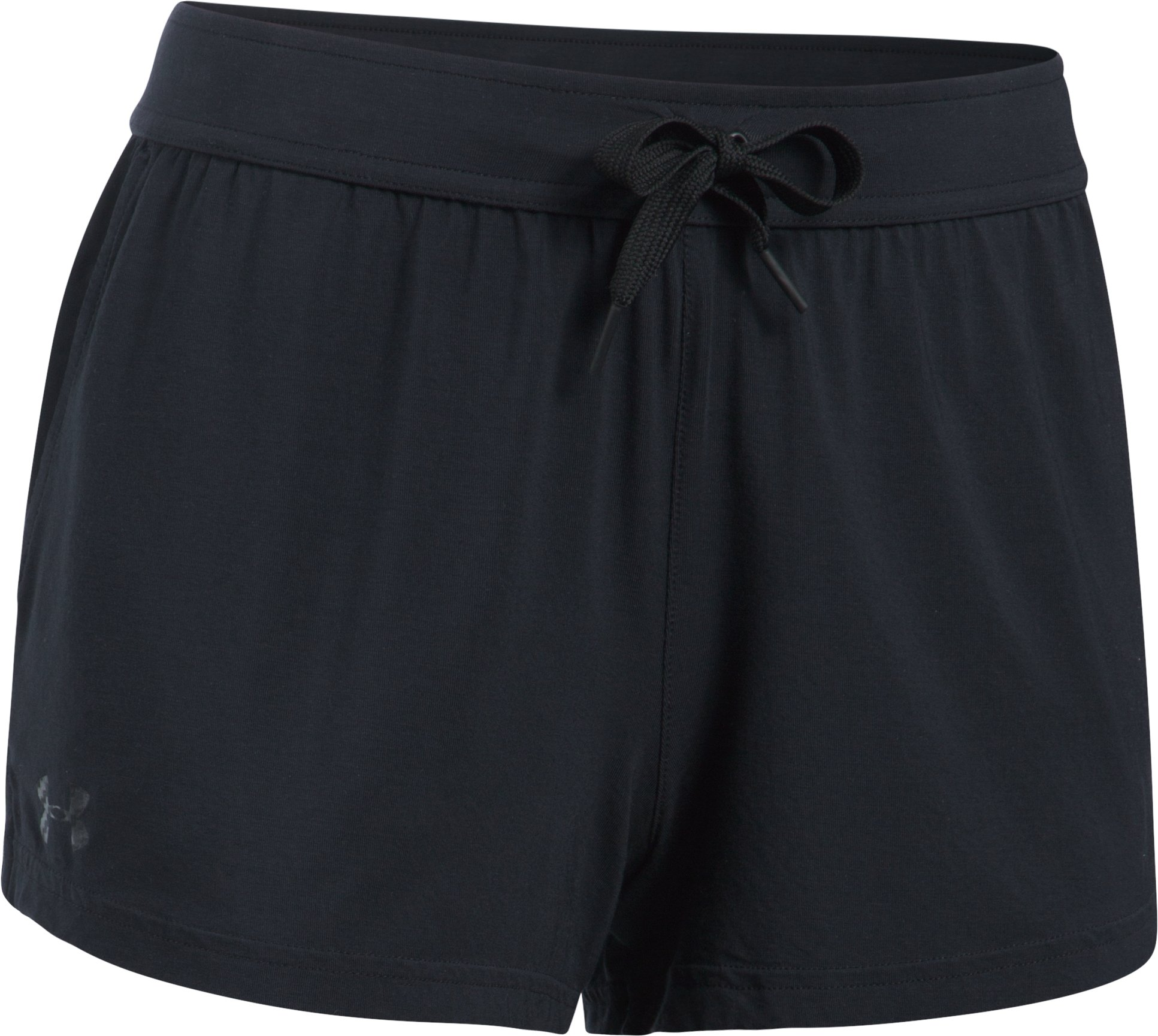 Women's Athlete Recovery Ultra Comfort Sleepwear Shorts, Black ,