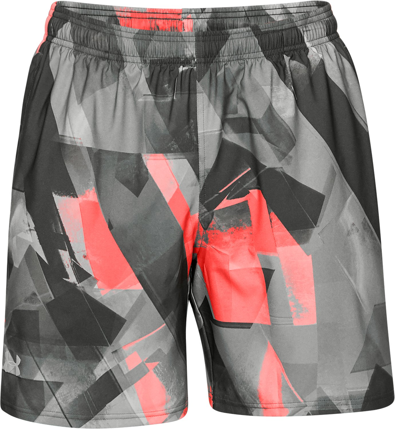 Men's UA Launch SW Printed 7'' Shorts, NORI GREEN, undefined