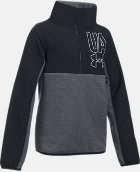 Girls' UA Phenom Fleece ½ Snap LIMITED TIME OFFER 1 Color $38.49