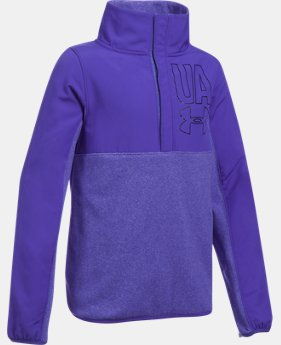 Girls' UA Phenom Fleece ½ Snap  4 Colors $41.24