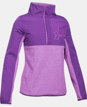 Girls' UA Phenom Fleece ½ Snap  1 Color $41.24