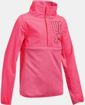 Girls' UA Phenom Fleece ½ Snap   $54.99