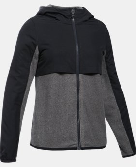 Girls' UA Phenom Fleece Full Zip Hoodie  1 Color $48.74