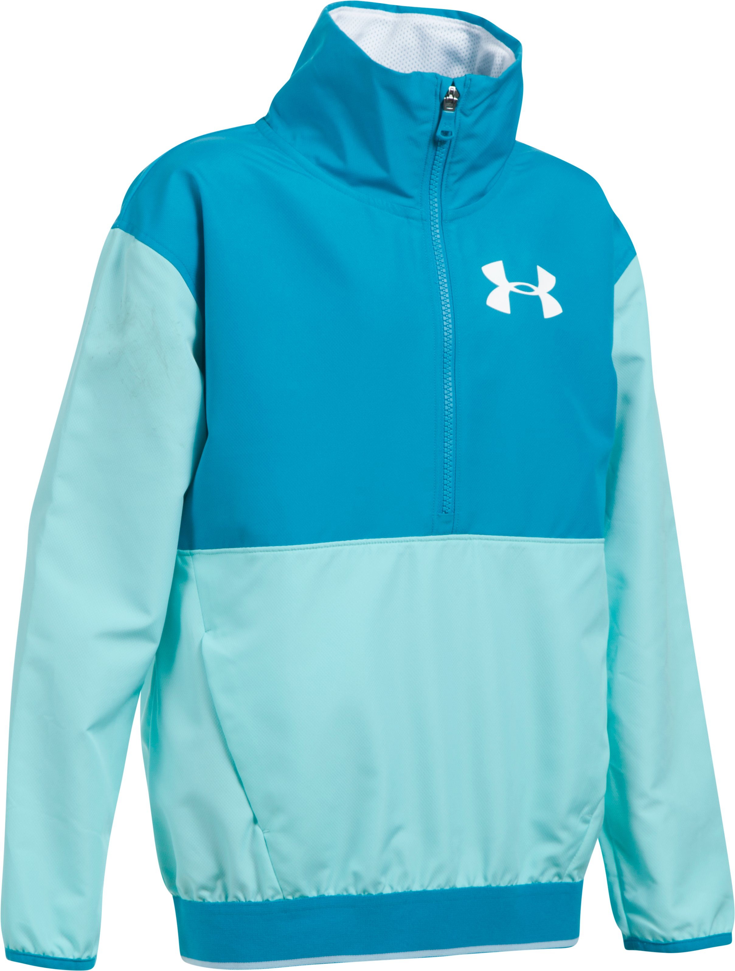 Girls' UA Train To Game Jacket, BLUE INFINITY, undefined