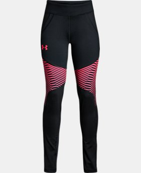 Girls' ColdGear® Reactor Leggings  3  Colors Available $29.99 to $37.49