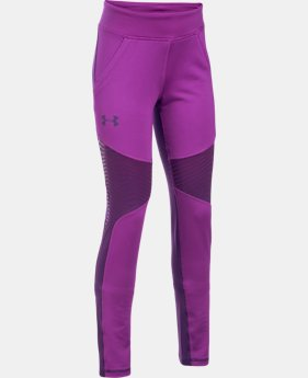 PRO PICK Girls' ColdGear® Reactor Leggings  1 Color $37.49