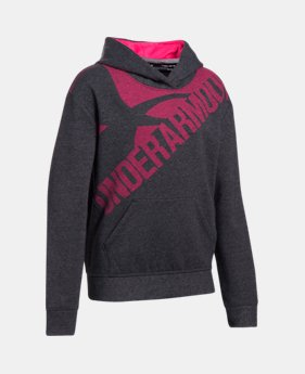 8a987e000 Girls' UA Threadborne™ Printed Fleece Hoodie 1 Color Available $47.99