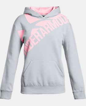 Girls' UA Threadborne™ Printed Fleece Hoodie  2  Colors Available $26.99