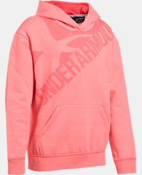 Girls' UA Threadborne™ Printed Fleece Hoodie  6 Colors $59.99