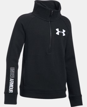 Girls' UA Threadborne™ Fleece ½ Zip  1 Color $59.99