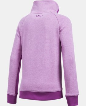 Girls' UA Stretch Fleece ½ Zip LIMITED TIME OFFER 3 Colors $34.99