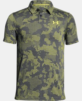 PRO PICK Boys' UA Threadborne Polo  3 Colors $34.99