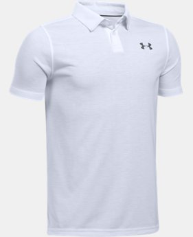 Boys' UA Threadborne Polo LIMITED TIME: FREE U.S. SHIPPING 1  Color Available $34.99