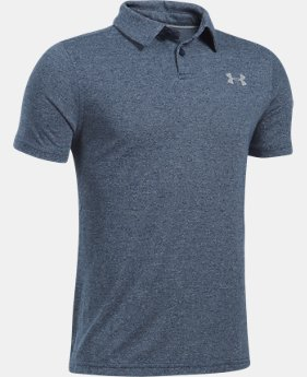 Boys' UA Threadborne Polo  1  Color Available $34.99