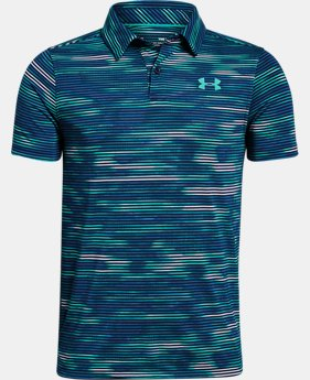 Boys' UA Threadborne Polo  4  Colors Available $34.99