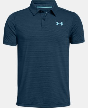 Boys' UA Threadborne Polo  4  Colors Available $26.24