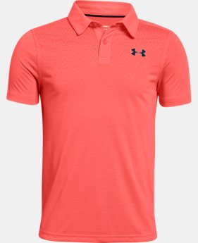 Boys' UA Threadborne Polo  3  Colors Available $34.99