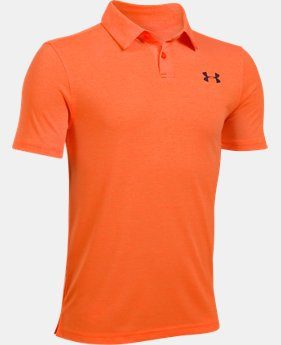 PRO PICK Boys' UA Threadborne Polo  1 Color $26.99