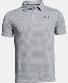 Boys' UA Threadborne Polo FREE SHIPPING 2  Colors Available $34.99