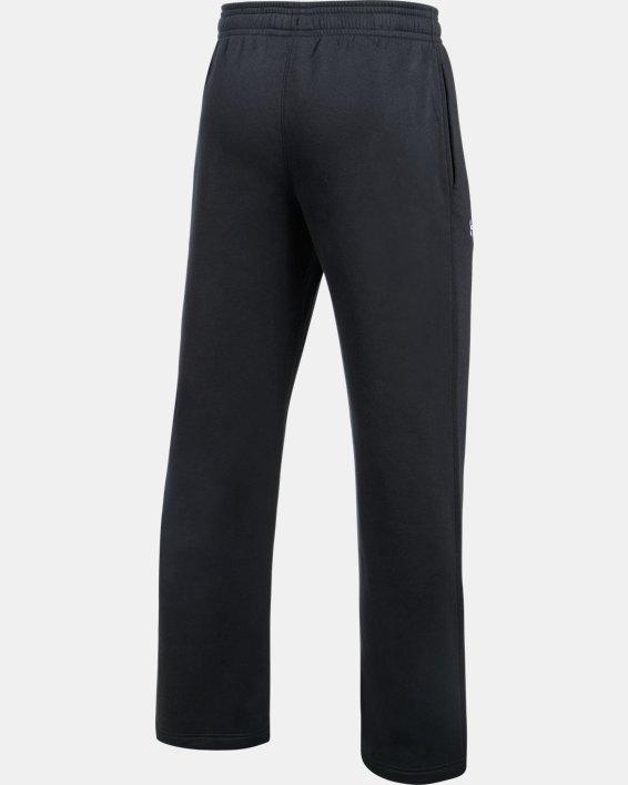 Men's UA Rival Fleece 2.0 Team Pants, Black, pdpMainDesktop image number 6