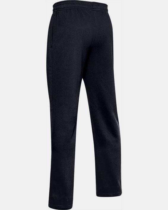 Men's UA Rival Fleece 2.0 Team Pants, Black, pdpMainDesktop image number 5