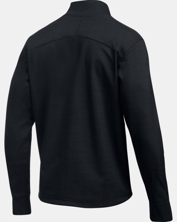 Men's UA Barrage Softshell Jacket, Black, pdpMainDesktop image number 7