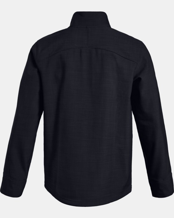 Men's UA Barrage Softshell Jacket, Black, pdpMainDesktop image number 6