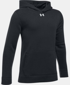 Boys' UA Hustle Fleece Hoodie  1 Color $44.99