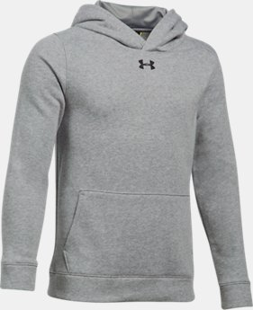 Boys' UA Hustle Fleece Hoodie  6 Colors $44.99