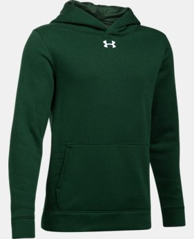 Boys' UA Hustle Fleece Hoodie  6  Colors Available $44.99