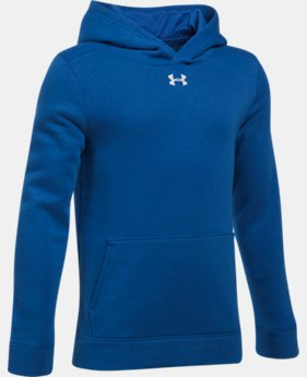 Boys' UA Hustle Fleece Hoodie  1 Color $39.99