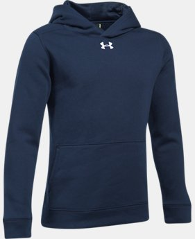 New Arrival Boys' UA Hustle Fleece Hoodie  1 Color $39.99
