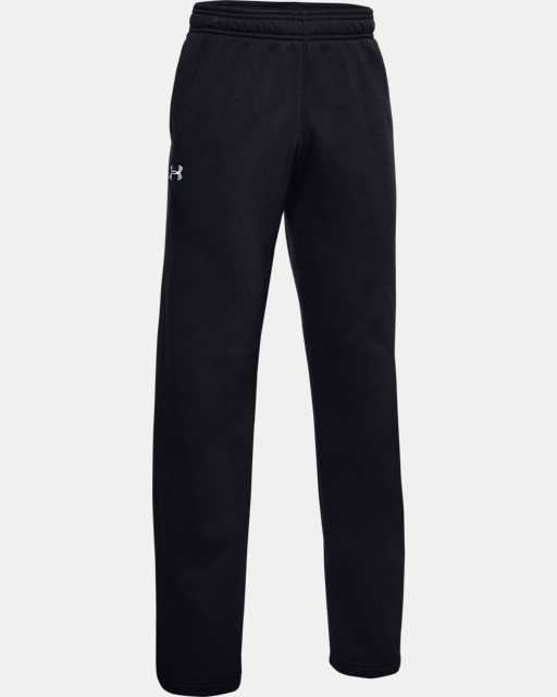 Boys' UA Hustle Fleece Pants