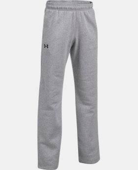 Boys' UA Hustle Fleece Pants  3 Colors $39.99
